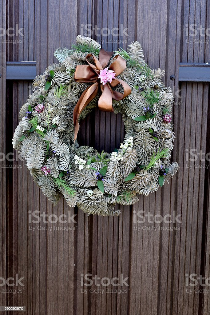 wreath royaltyfri bildbanksbilder
