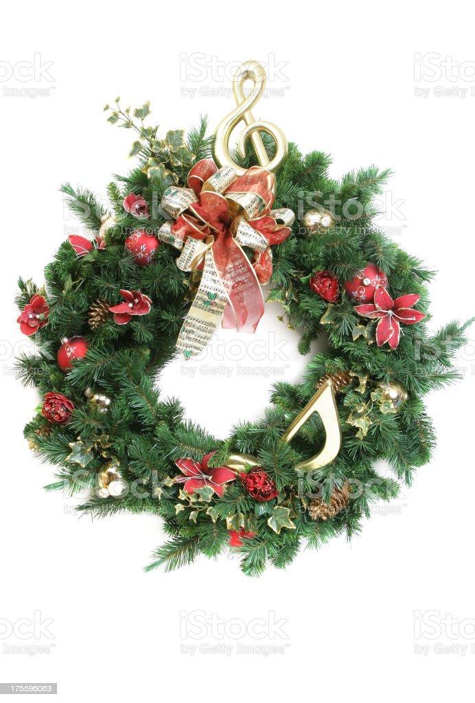Wreath Series (on white) royalty-free stock photo