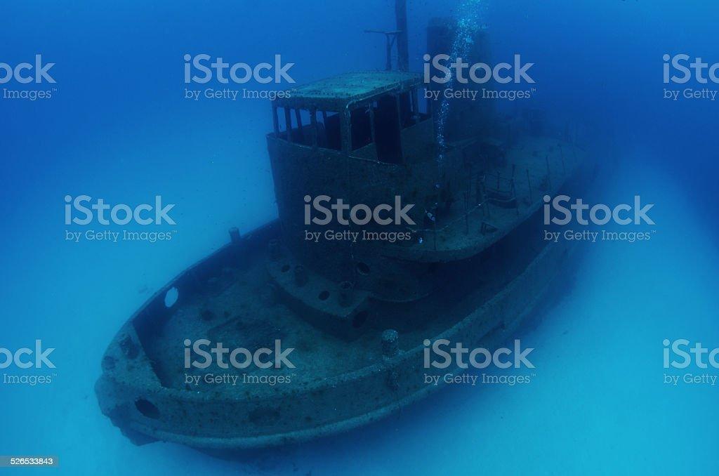 Wreck 2 stock photo