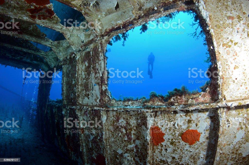 Wreck 3 stock photo
