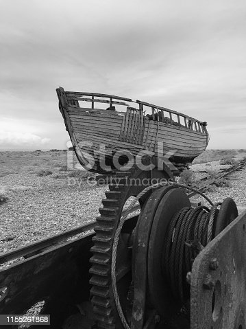 Wreck at Dungeness