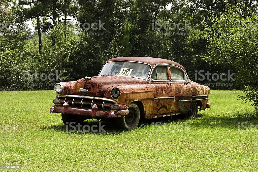 Wreck for Sale royalty-free stock photo