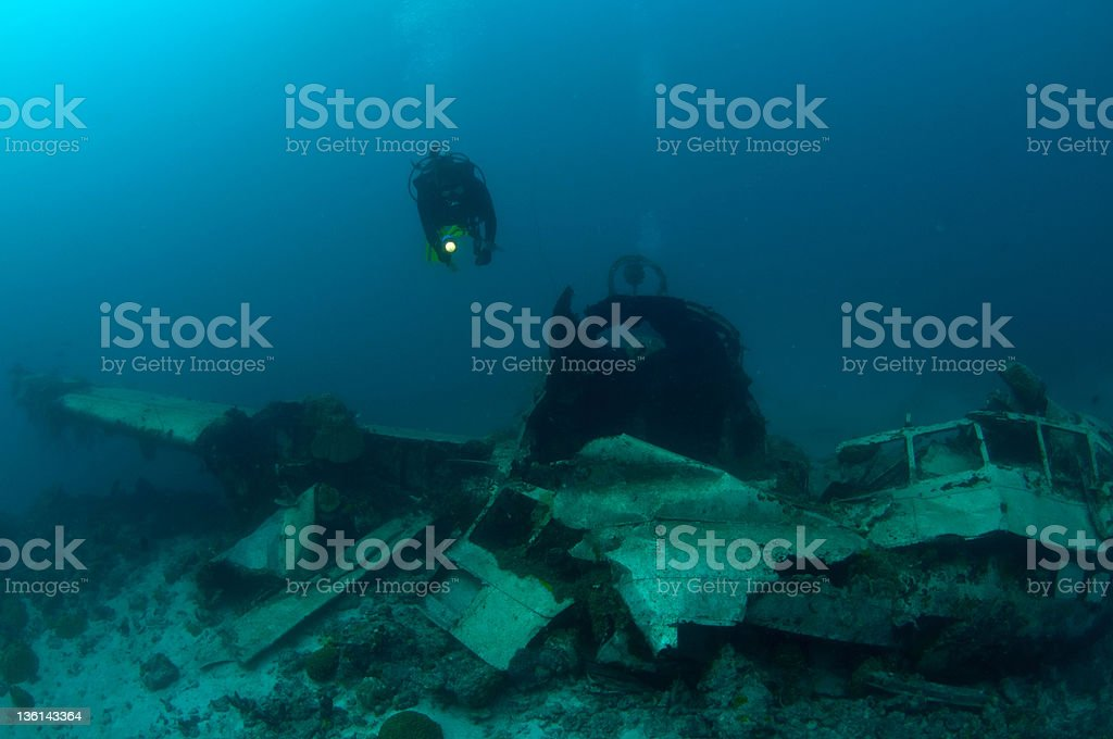 wreck stock photo