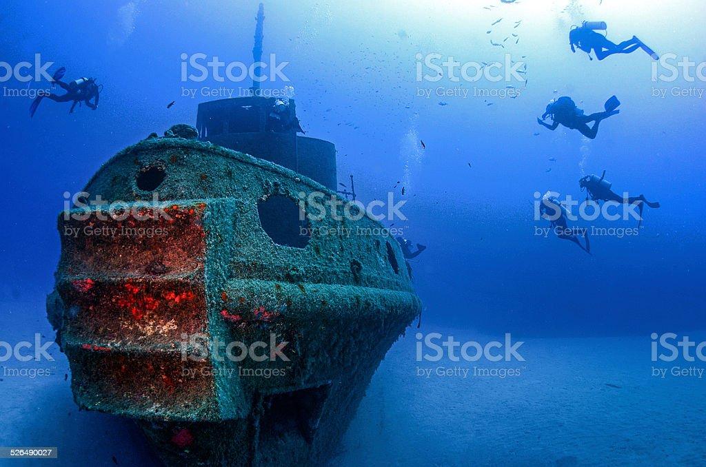 Wreck stock photo
