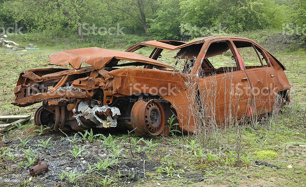 Wreck royalty-free stock photo