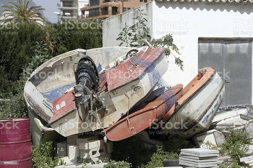 Schiffbruch Boote Lizenzfreies stock-foto