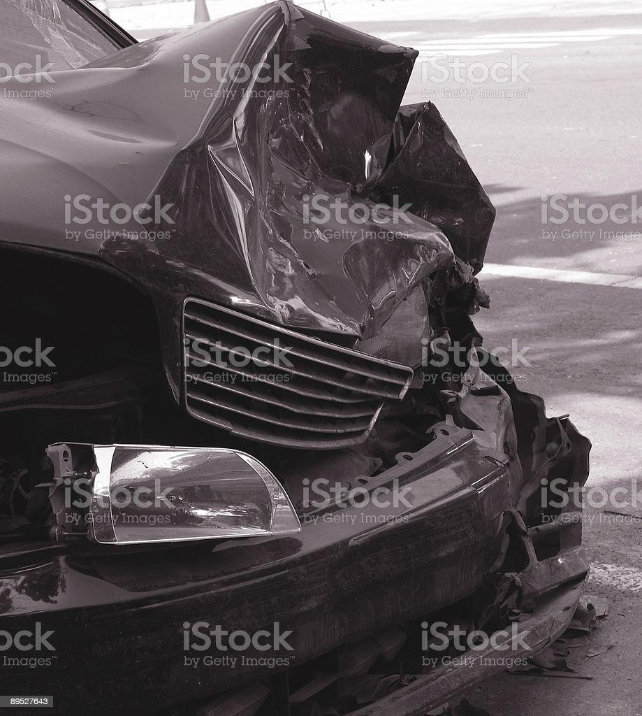 Schiffbruch Auto Lizenzfreies stock-foto