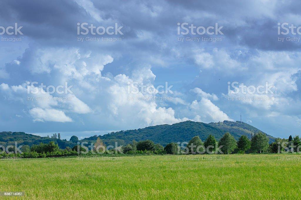 Wrekin - Shropshire stock photo