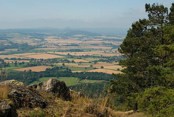 Wrekin View stock photo