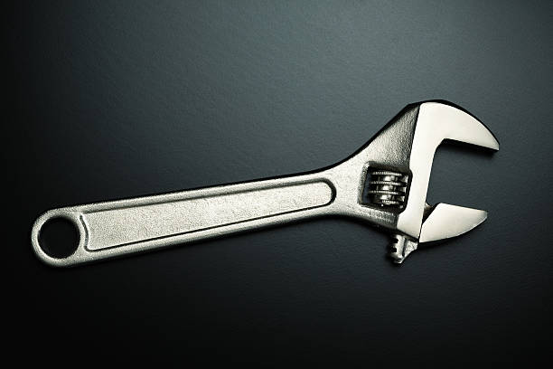 Wrench work tool adjustable wrench stock pictures, royalty-free photos & images