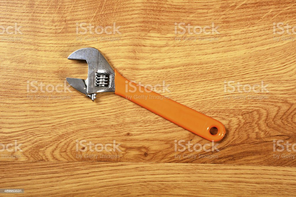Wrench (Click for more) royalty-free stock photo