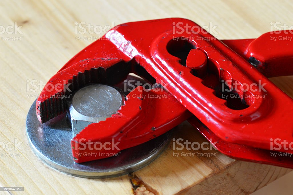 Wrench stock photo