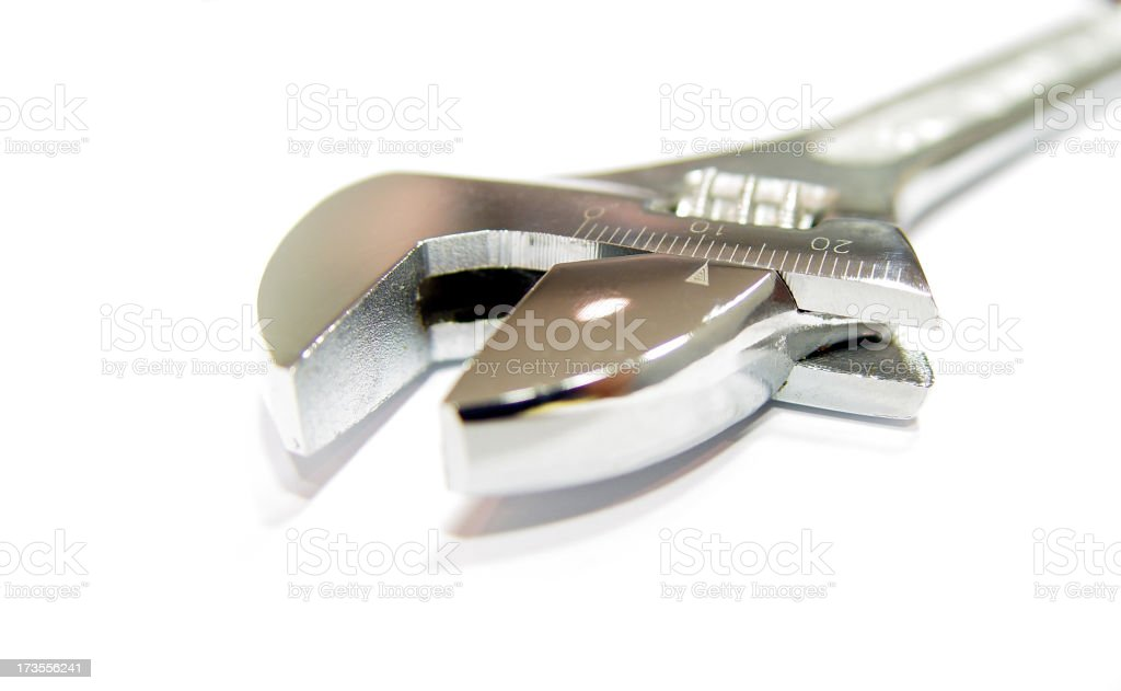 wrench tool royalty-free stock photo