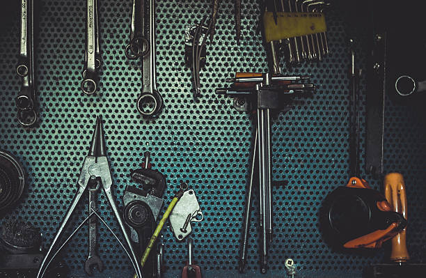Wrenches in the workshop foto