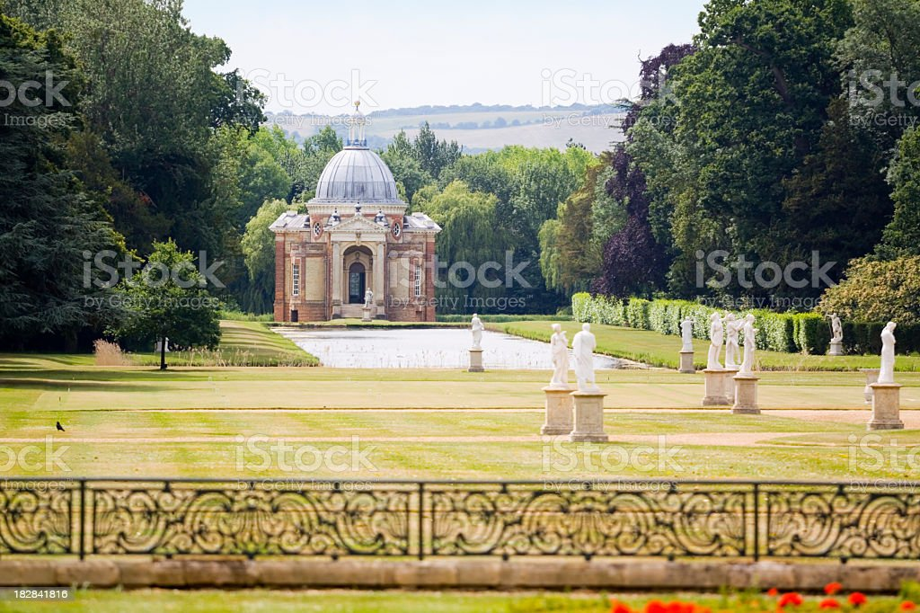 Wrest Park Gardens stock photo
