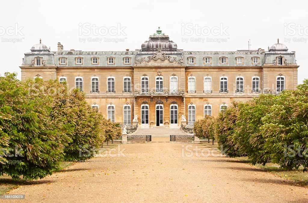Wrest Park stock photo