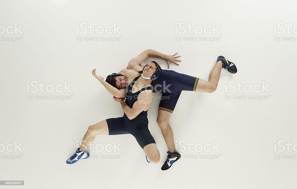 Wrestlers in Aktion – Foto