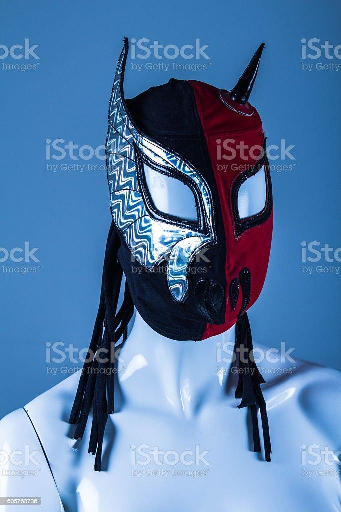 Wrestling mask stock photo