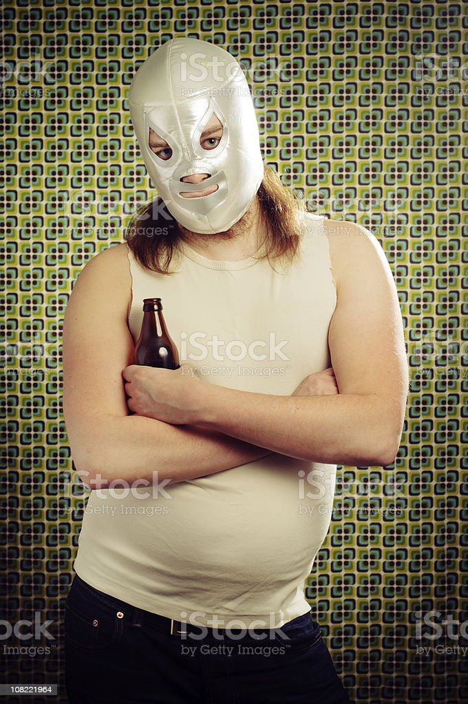 lucha libre royalty-free stock photo