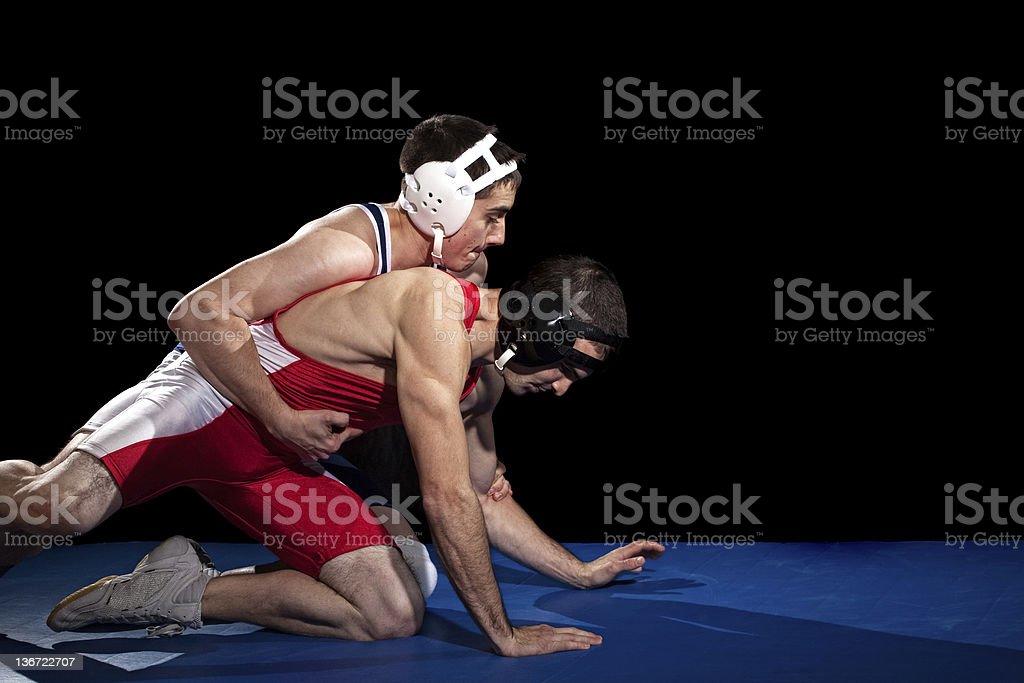 Lucha libre - foto de stock