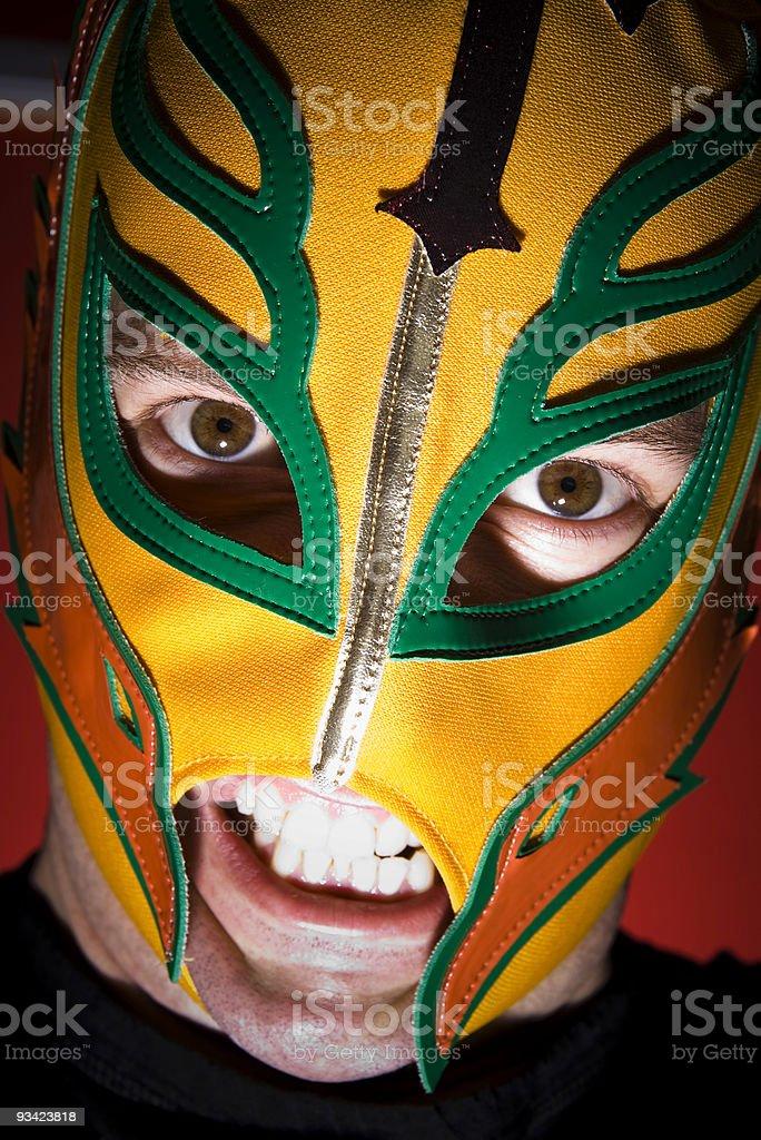 Lucha libre! stock photo