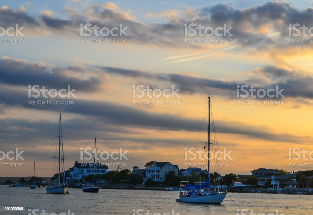 Wrightsville Beach and Wilmington North Carolina - Beauty by the Water royalty-free stock photo