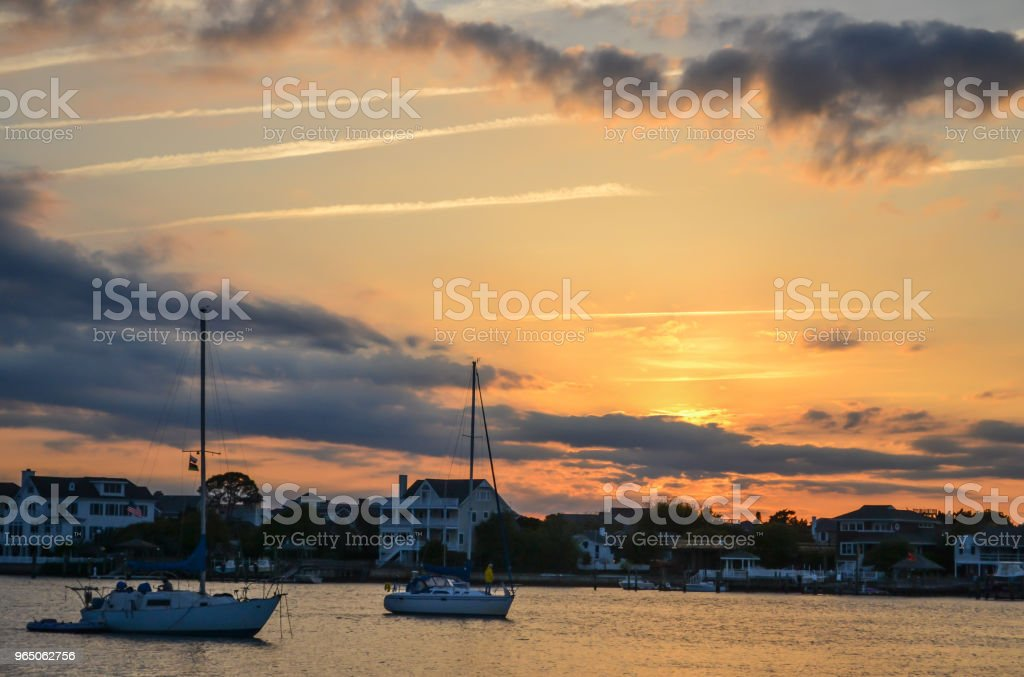Wrightsville Beach and Wilmington North Carolina - Beauty by the Water zbiór zdjęć royalty-free