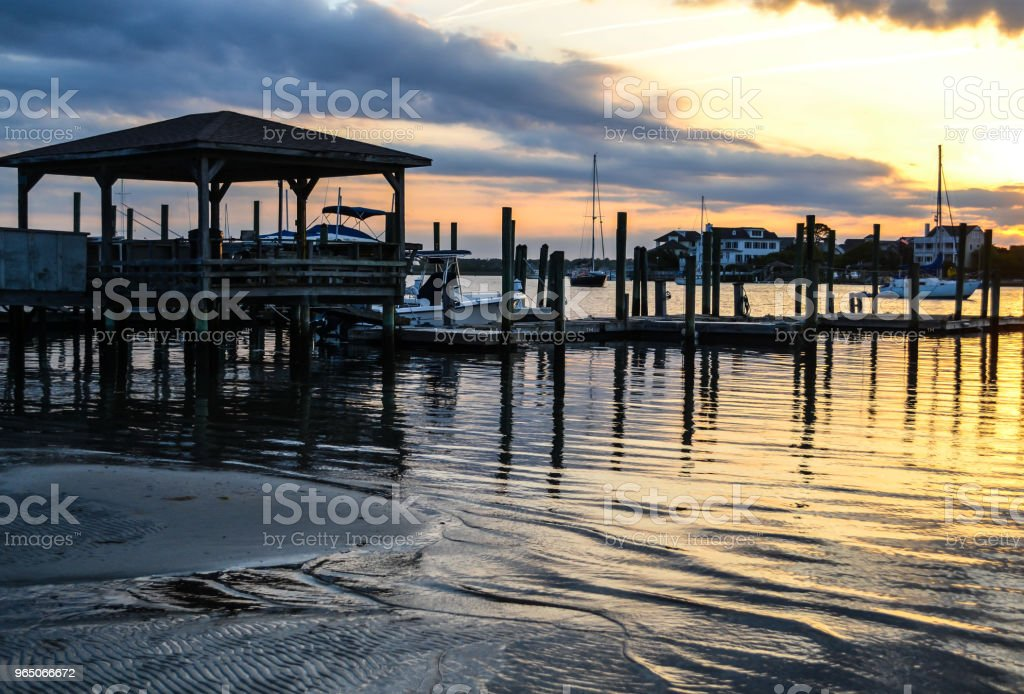 Wrightsville Beach and Wilmington North Carolina - Beauty by the Water zbiór zdjęć royalty-free