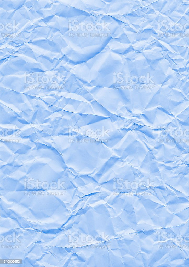 Wrinkle background blue stock photo