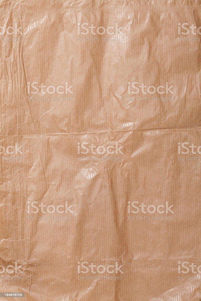 wrinkled cardboard royalty-free stock photo