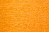 istock Wrinkled crepe orange paper 182151011