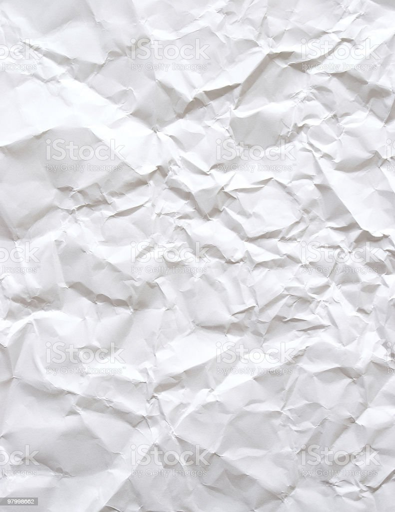 Wrinkled Paper Background royalty free stockfoto
