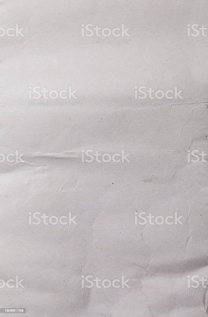 wrinkled paper royalty-free stock photo