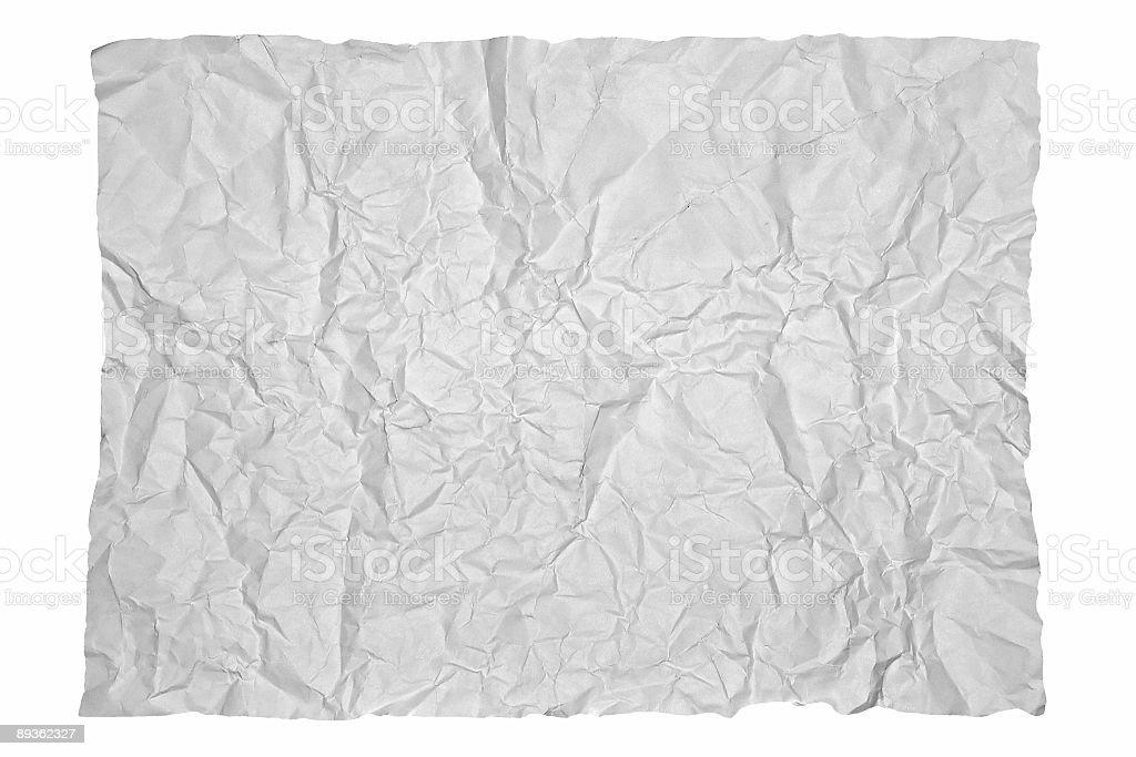 Papier Pomarszczony zbiór zdjęć royalty-free
