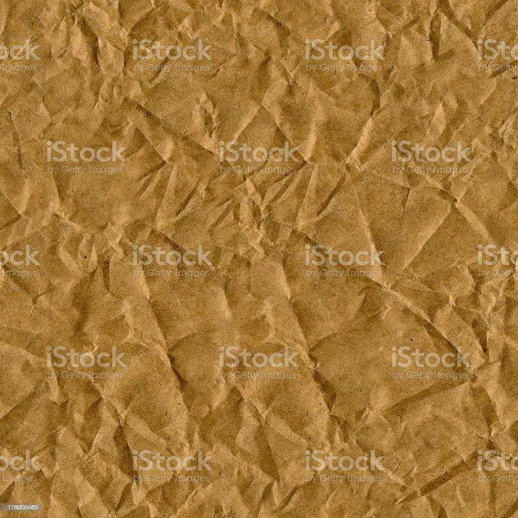wrinkled paper seamless tile royalty-free stock photo