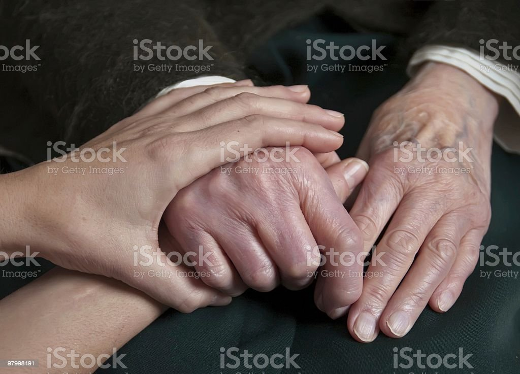 Wrinkled royalty-free stock photo