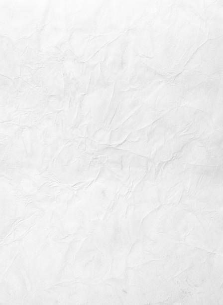 wrinkled piece of paper against a white background - poster stock pictures, royalty-free photos & images