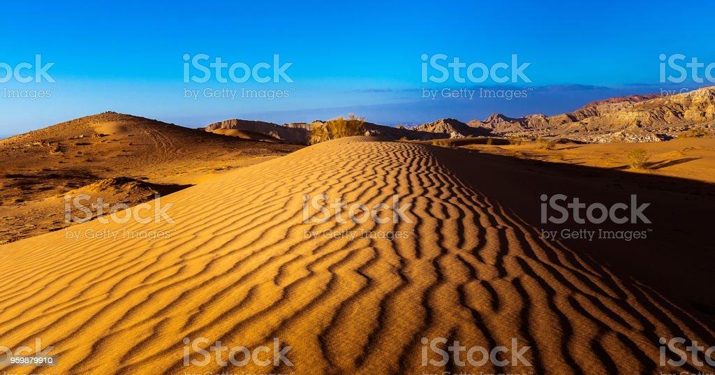 Wrinkled Sand stock photo