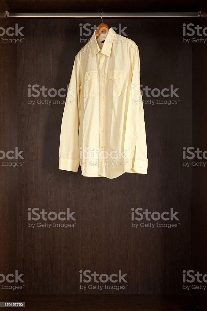 Wrinkled shirt royalty-free stock photo
