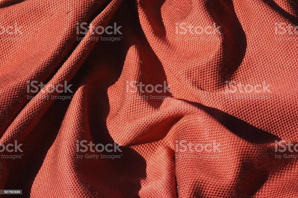 Wrinkled Tablecloth royalty-free stock photo