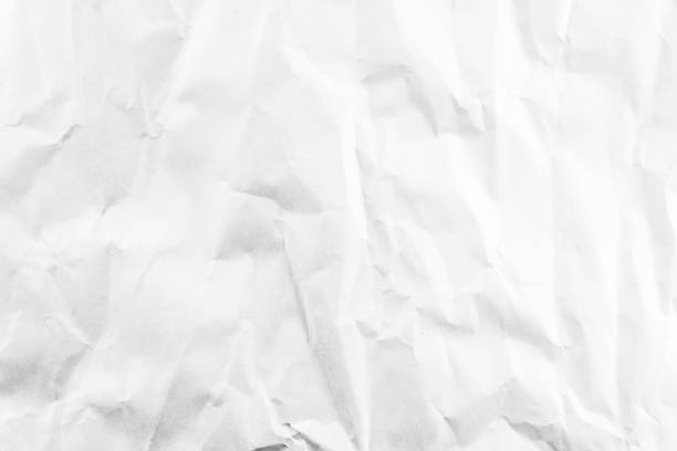 faltig weißbuch textur und hintergrund - zeitschrift wandkunst stock-fotos und bilder