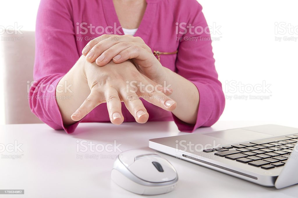 Wrist Pain stock photo