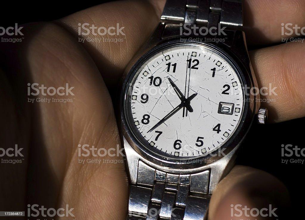 Reloj de pulsera foto de stock libre de derechos
