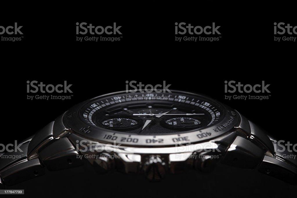 Wrist watch stock photo