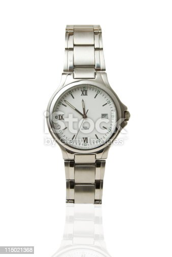 istock Wristwatch - Isolated on white 115021368