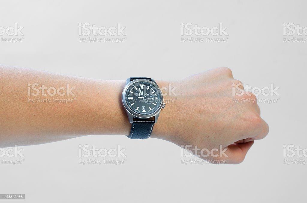 wristwatch royalty-free stock photo