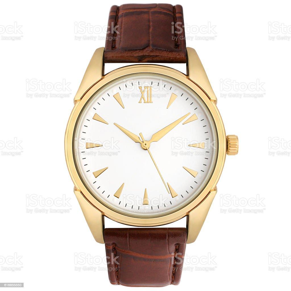 Wristwatch stock photo