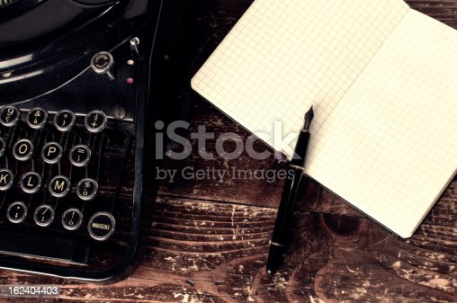istock Writer Desk 162404403