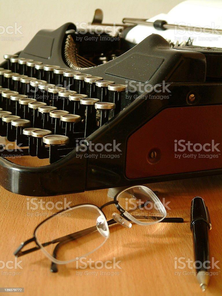 writer's set2 stock photo