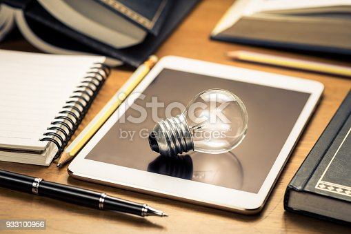 istock Writing For Communication Idea 933100956